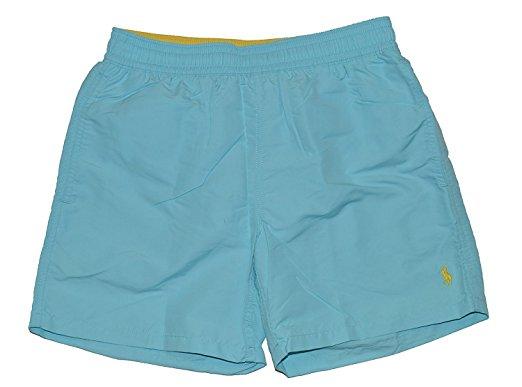 polo ralph lauren swim shorts (small, hamm blue) bklymiw
