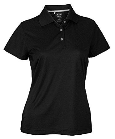 polo shirts for women adidas taylormade womens climalite textured solid golf polo shirt (xs,  black) hgoldko