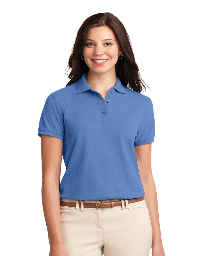 polo shirts for women port authority womenu0027s silk touch pique polo ofmluel