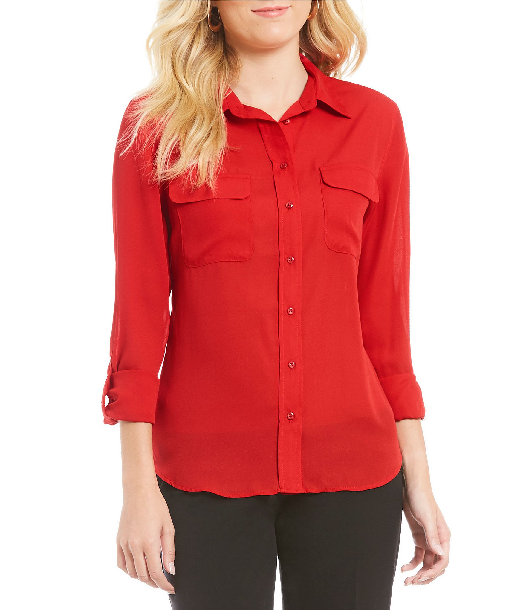 Red Blouse: Ideal For Women
