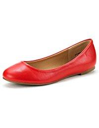 red flats womenu0027s sole simple ballerina walking flats shoes qlauejs