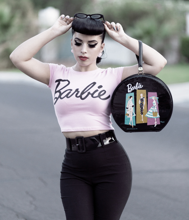 rockabilly style: hillbilly, trash-couture and modern style oxnjclx
