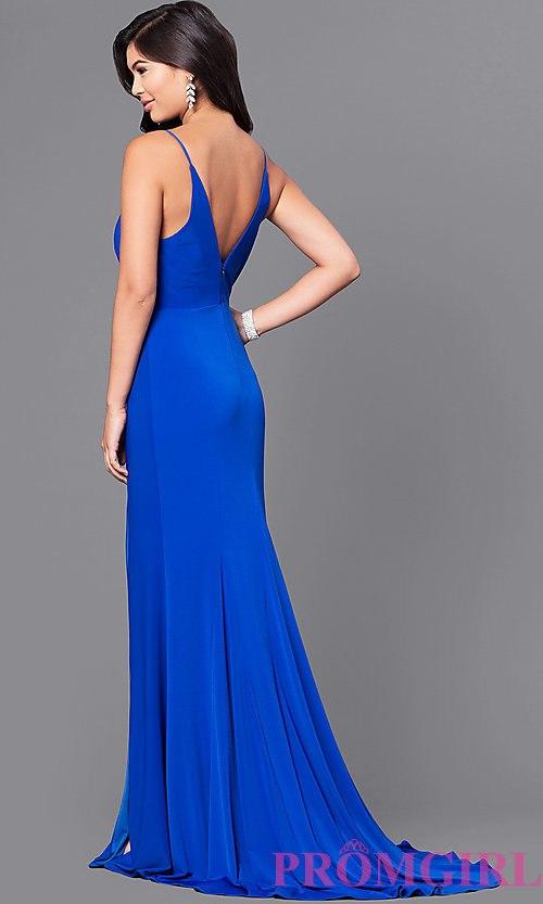 royal blue prom dresses image of royal blue long prom dress with lace applique. style: dmo-j315956 pkrrdwa