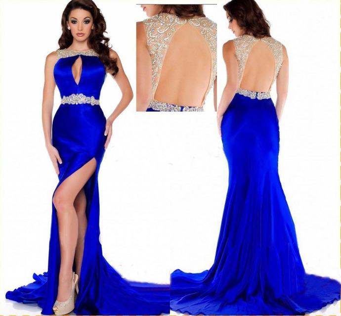 royal blue prom dresses royal blue prom dress,mermaid prom dress,satin prom gown,backless prom bnvheqr