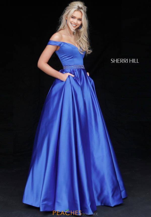 royal blue prom dresses sherri hill 51124 mdozdqe