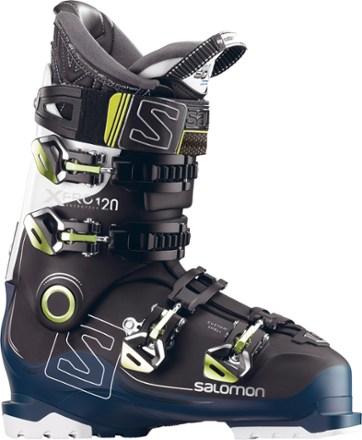 salomon ski boots salomon x pro 120 ski boots - menu0027s - 2017/2018 side view (black nsqilfe
