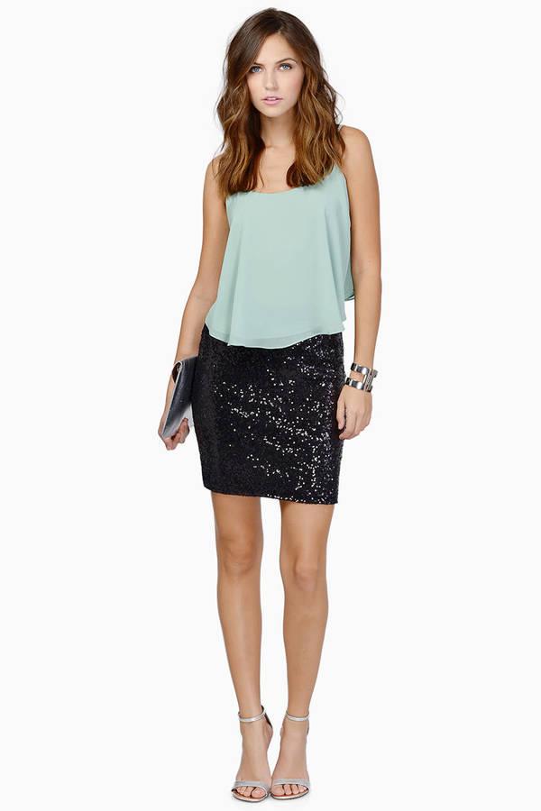 sequin skirt ... be seen black sequin pencil skirt ... ekpyrsr