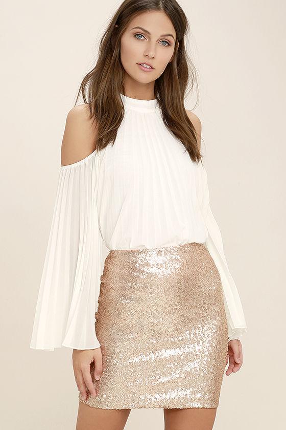 sequin skirt love me now gold sequin mini skirt 1 rwurhsn