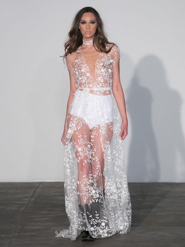 sexy wedding dresses sheer lace wedding dress gotblyh