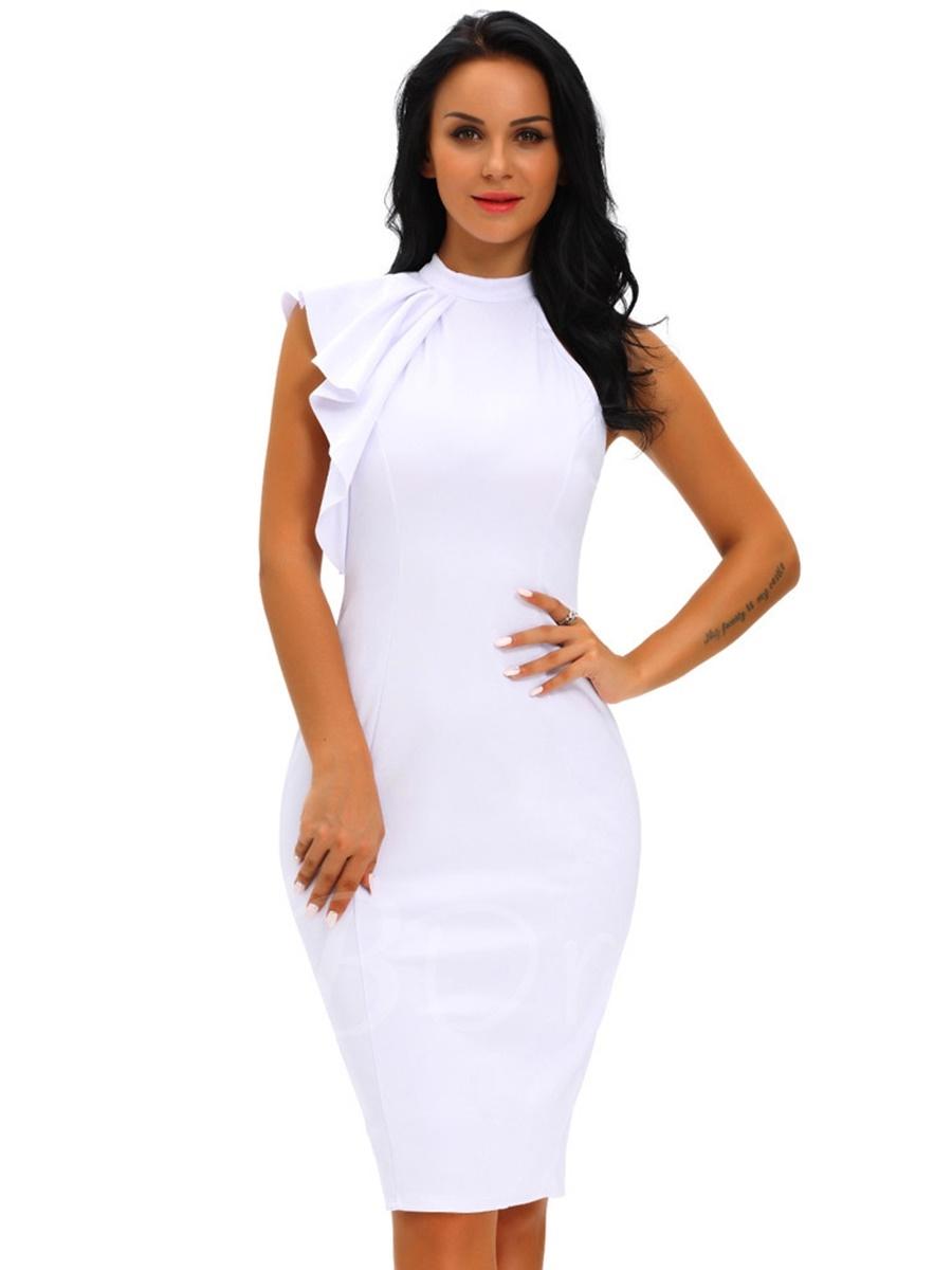 How to wear a sheath dress?