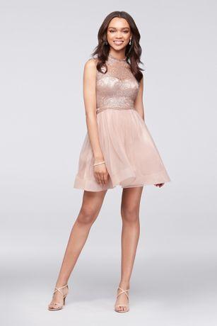 short prom dress short ballgown cap sleeves quinceanera dress - my michelle cbbzdrl