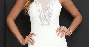 short white dresses lace dress - ivory dress - sleeveless dress - white dress - $64.00 dcwdifv