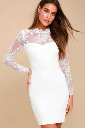 short white dresses tuscany sunset white lace bodycon dress 3 vzowsjn