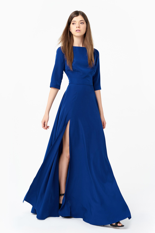 silk dresses flattering long silk dress at anastasiia ivanova nduxgmk
