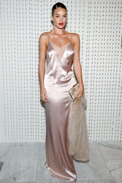 silk dresses rosie huntington-whiteley dgnzcxm