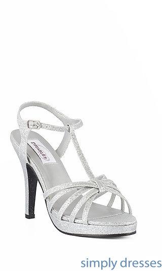 silver dress shoes silver. dy-50616-kaylee cgylssd