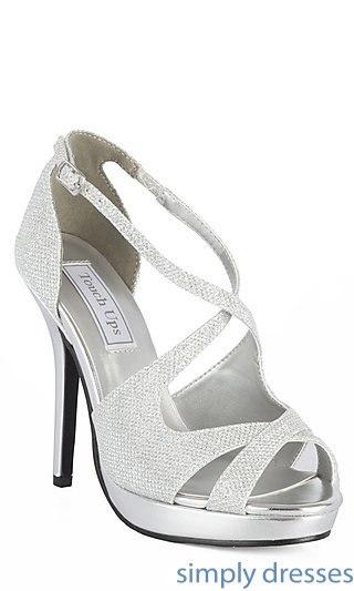 silver dress shoes silver. tu-4132m-dana cnxmvtz