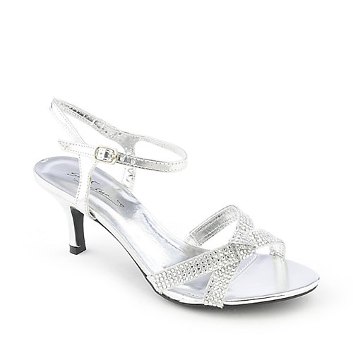 Silver dress shoes- a girl's best friend