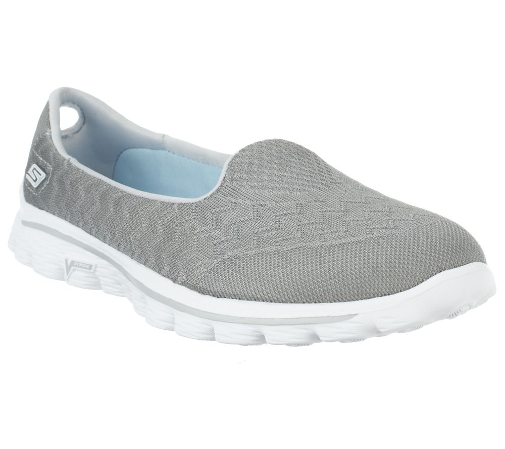 skechers shoes skechers gowalk 2 mesh lightweight slip-on shoes - axis - page 1 - nkslvlh