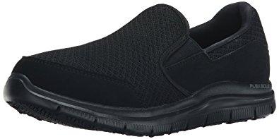 skechers shoes skechers womenu0027s work relaxed fit cozard slip resistant slip on,black,us ... hsemsmf