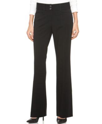 slacks for women alfani two-button curvy-fit pants, created for macyu0027s vtlthur