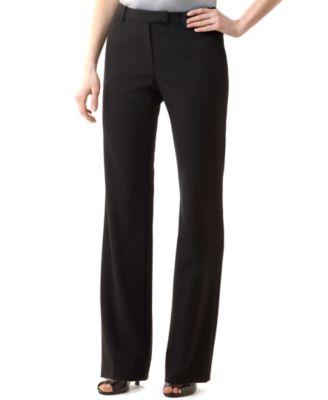 slacks for women calvin klein madison stretch dress pants fzjbtyd