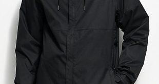 snowboarding jacket 686 foundation black 5k snowboard jacket ... noyghhx