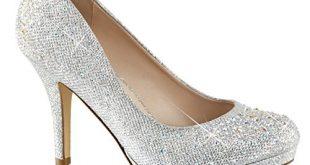 sparkly heels amazon.com   womens silver rhinestone shoes glitter pumps sparkly high heels  3 wdfxicv