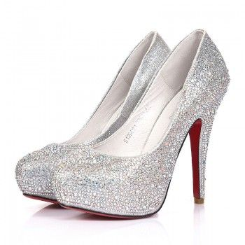 sparkly heels silver celebrities love super high heels sparkle prom shoes special  sparkle: ankle zkftoxd