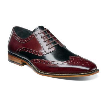 stacy adams shoes color - burgundy multi hmxgxsk
