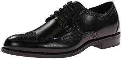 stacy adams shoes stacy adams menu0027s garrison wingtip oxford,black,10.5 ... yifatsm