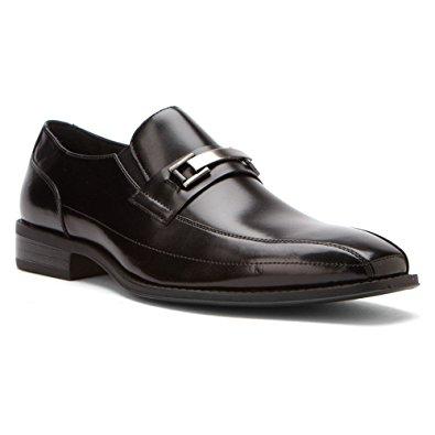 stacy adams shoes stacy adams menu0027s wakefield black loafer 7.5 d ... xzcycrn