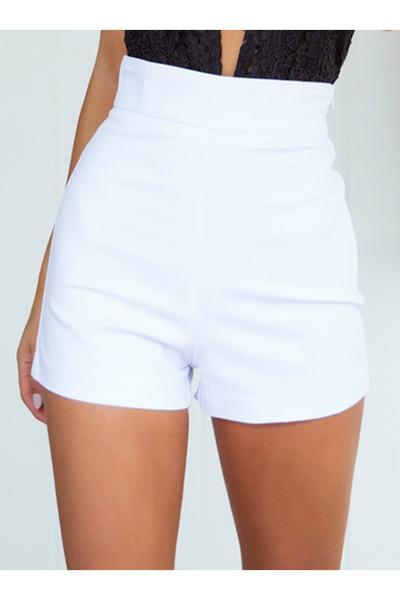 staple white shorts (white) ... dbqaiet