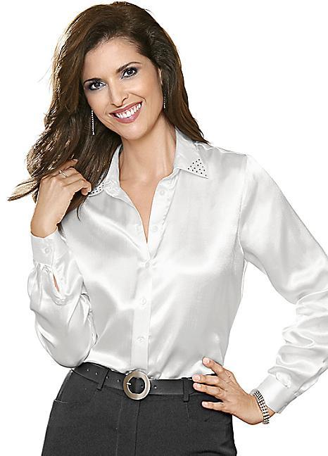 swarovski satin blouse tkqxitb