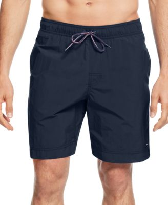swim shorts tommy hilfiger menu0027s tommy swim trunks xnzwhqj