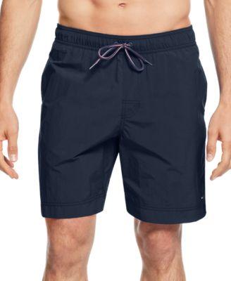 swimming shorts tommy hilfiger menu0027s tommy swim trunks zbrtqke