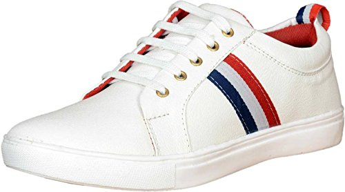 t-rock menu0027s white sneakers shoes: buy online at low prices in india - vhtylyh