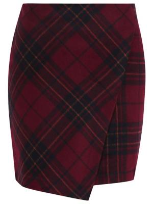 tartan skirt tartan wrap skirt | women | george hasijfh