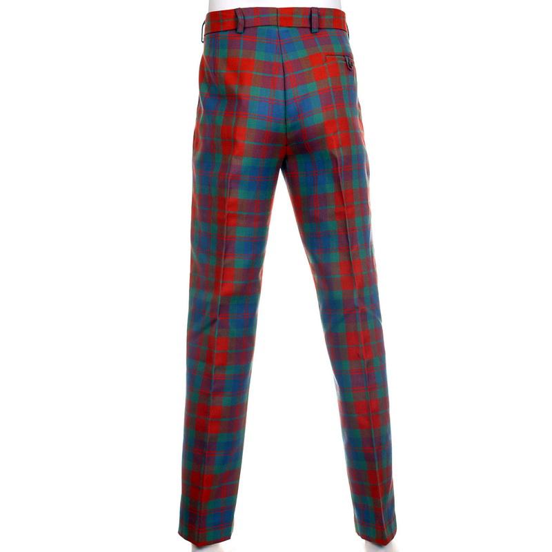 tartan trousers gents standard tartan trews, mediumweight - made to measure mrtmmqz