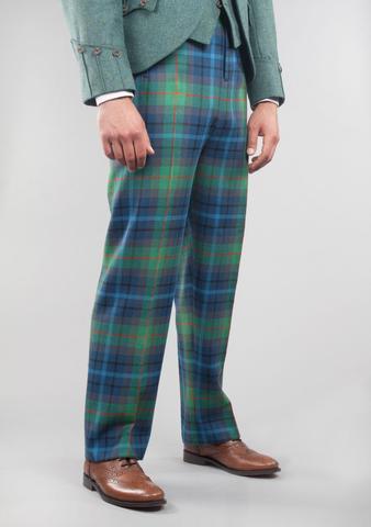 tartan trousers military style tartan trews - kilt society™ opaicdc
