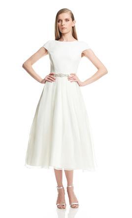 tea length dresses ... theia 882577 tea-length 2 yrnvror