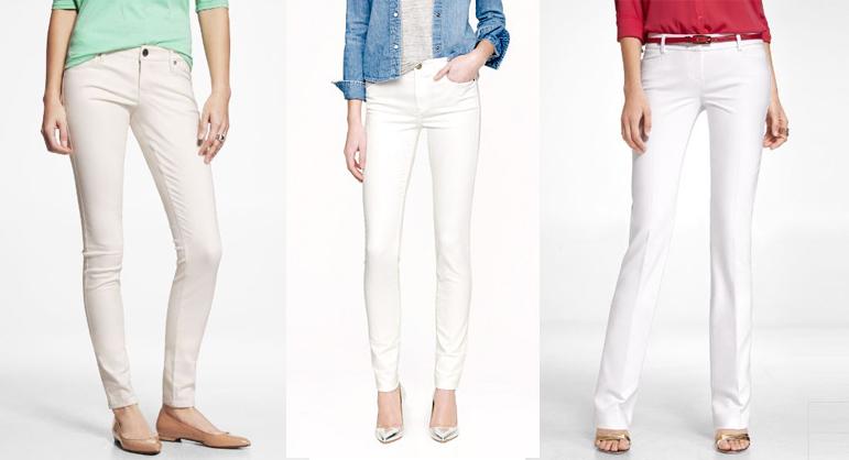 the secret to white pants revealed - modernmom bjmadww