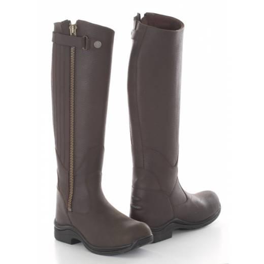 toggi boots toggi roanoke riding boots - bitter chocolate okoueeu