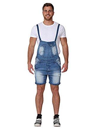 tony moro menu0027s denim overall shorts detachable bib dungaree shorts  shortalls xxpawax