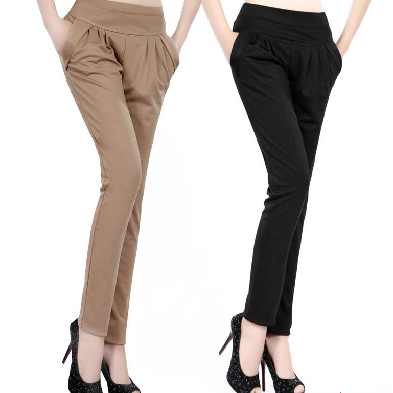 trousers for women 2017 fashion harem pants women high waist woman pencil pants casual  stretchy kcfyysh