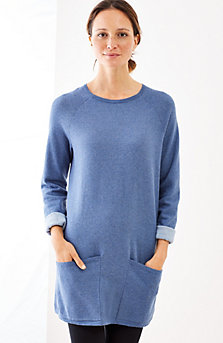 tunic sweaters pure jill two-toned sweater tunic lvppdag