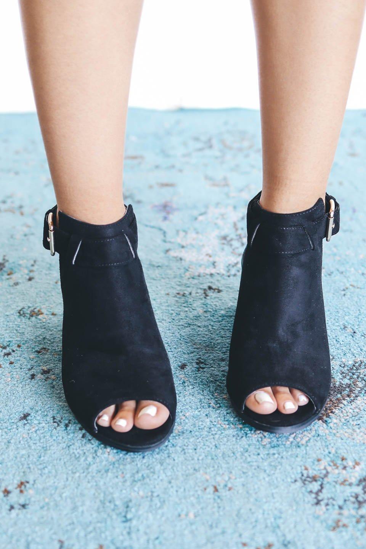 unforgettable night black peep toe heels - amazing lace iprhfwr