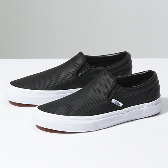 van shoes perf leather slip-on dtgvode