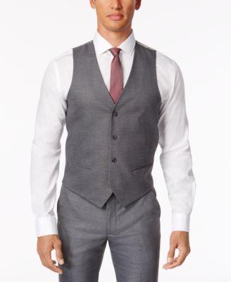 vest for men alfani menu0027s stretch performance solid slim-fit vest, created for macyu0027s smyzjyd