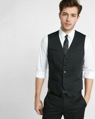 vest for men black cotton suit vest   express qirfxlo